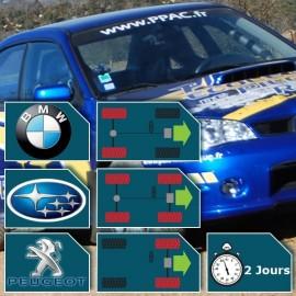 Stage de pilotage Rallye 2 Jours