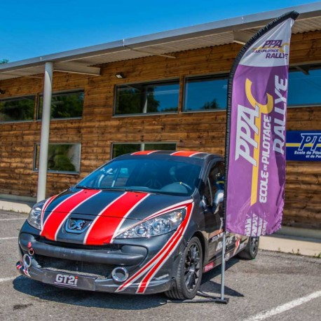Stage de pilotage rallye coaching competition