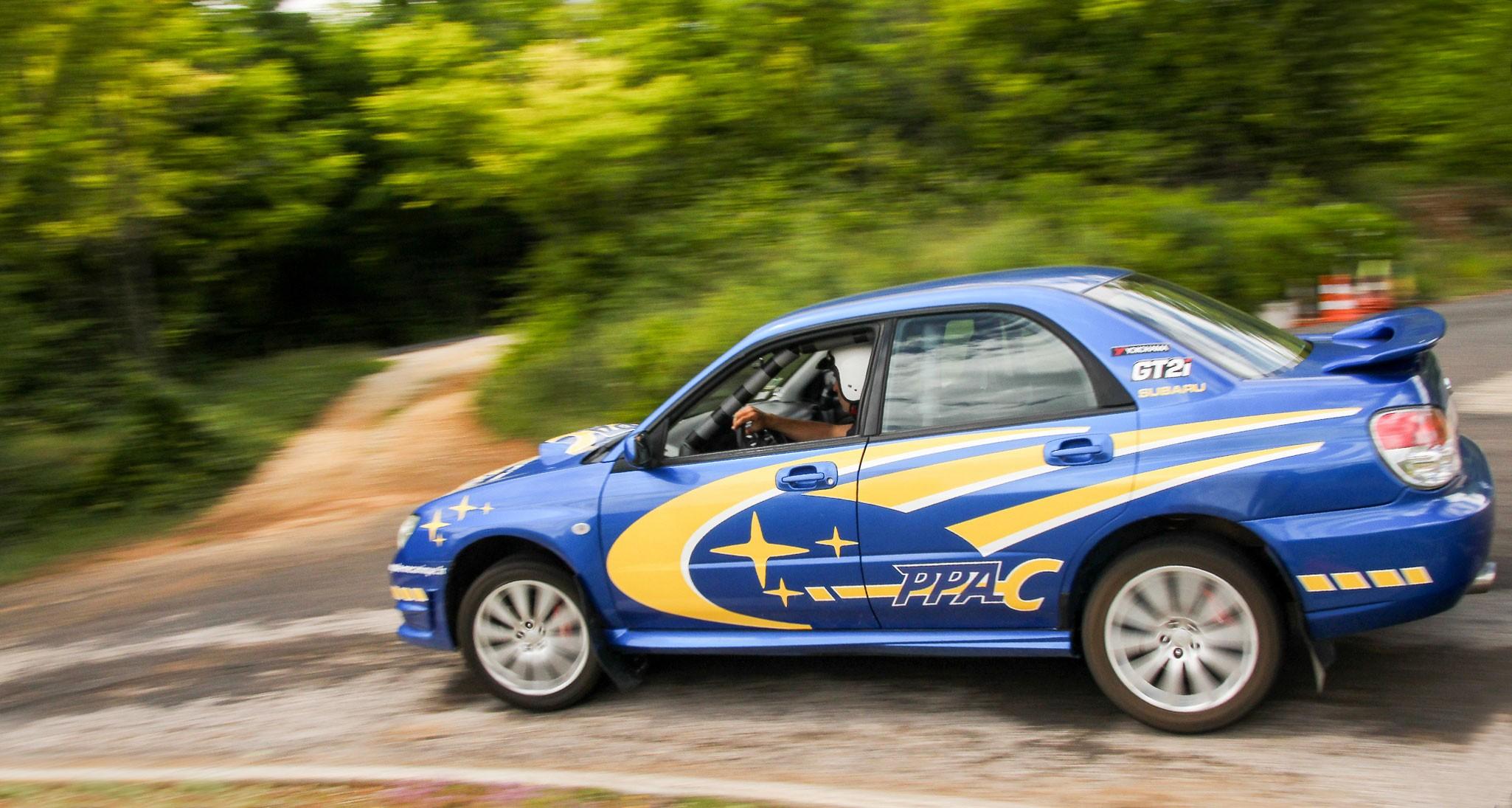 Pilotage rallye dans le Gard